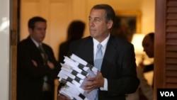 El presidente del Congreso, el republicano John Boehner, encabeza las negociaciones sobre el presupuesto por la oposición.