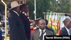 ZITF - President Emmerson Mnangagwa and Uganda President Yoweri Museveni