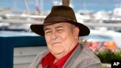 Бернардо Бертолуччи на Каннском кинофестивале. 2012 г.