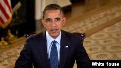 Presiden Obama dalam pidato mingguannya, Sabtu (6/3) mengatakan prioritas utamanya adalah memperbaiki ekonomi dengan mendukung pertumbuhan kelas menengah (Foto: dok).