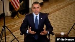 Tổng thống Barack Obama đọc diễn văn truyền thanh của đảng hàng tuần, 12/10/2012