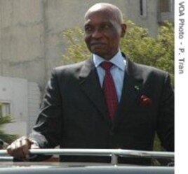 Senegal's 84- year old President, Abdoulaye Wade