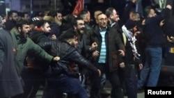 demonstruesit turq në Rotterdam