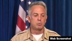 Las autoridades de Las Vegas informaron que las cámaras instaladas por el tirador Paddock no se encontraban filmando sino monitoreando.