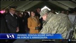 Jahjaga: Kosova shumë shpejt bëhet me Forcat e Armatosura