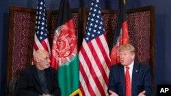 Дональд Трамп и Ашраф Гани