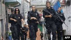 რიო-დე-ჟა-ნე-იროს პოლიციის რეიდი