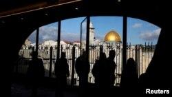 یروشلم میں واقع بیت المقدس کا ایک منظر، فائل فوٹو