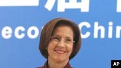 美国消费品安全委员会主席特南鲍姆周二在中国