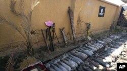 Oružje konfiskovano od Islamske države u Ramadiju