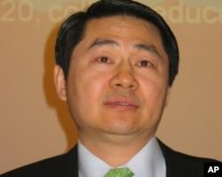 """""""中国与全球化研究中心""""主任王辉耀博士"""