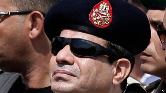 Egypt's Defense Minister Abdel-Fattah el-Sissi, Cairo, Egypt, Sept. 20, 2013.