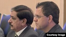 افغان سفیر زخیلوال اور پاکستانی مشیر قومی سلامتی ناصر جنجوعہ
