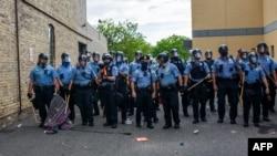 Policia ne Mineapolis; 27 maj 2020
