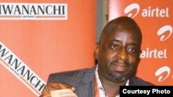 Francis Nanai mkurugenzi mtendaji wa kampuni ya Mwananchi