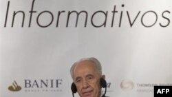 Tổng thống Peres nói Israel trực diện với mối đe dọa to lớn hơn từ chương trình hạt nhân của Iran