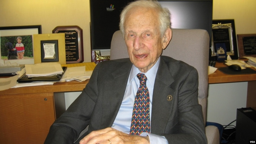 Умер легендарный прокурор Манхэттена Роберт Моргентау – внук Генри Моргентау