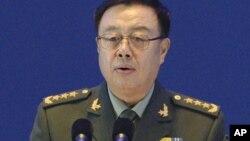 2015年10月17日中共中央军委副主席范长龙在北京举行的第六届香山论坛发表讲话。