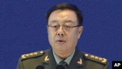 판창룽 인민해방군 부주석. (자료사진)