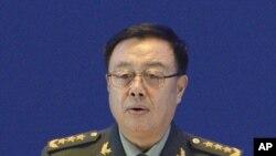 Jenderal Fan Changlong, wakil ketua Komisi Militer Pusat China (Foto: dok).