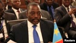 Joseph Kabila, le président de la RDC