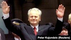 Slobodan Milošević u danu polaganja zakletve i preuzimanja funkcije predsednika Savezne Republike Jugoslavije, jul 1997.