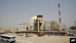 이란의 첫 원자력발전소인 부쉐르 원전(자료사진)