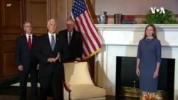 獲特朗普提名的巴雷特拜會國會共和黨領袖