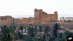 시리아 팔미라 고대유적지 (자료사진)