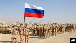 Российские военные проводят совместные учения с Узбекистаном и Таджикистаном недалеко от таджикско-афганской границы. Август 2021г.