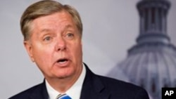 FILE - Sen. Lindsey Graham