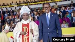Musenyeri Antoine Kambanda na Perezida Paul Kagame