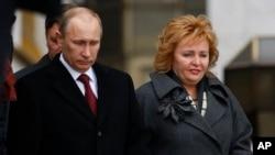 Tổng thống Nga Vladimir Putin và phu nhân Lyudmila