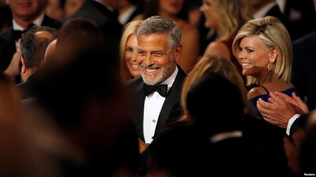 ARCHIVO: Actor George Clooney en la 46.a gala del premio AFI Life Achievement Award en Los Ángeles, California, el 7 de junio de 2018.