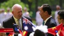 Việt-Úc quan ngại về an ninh biển Đông