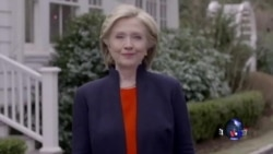 希拉里·克林顿:我要竞选总统