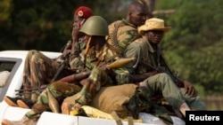 Seleka rebels, CAR. (File)