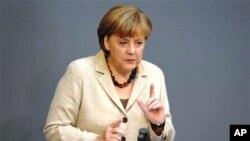 ທ່ານນາງ Angela Merkel ນາຍົກລັດຖະມົນຕີເຢຍຣະມັນ