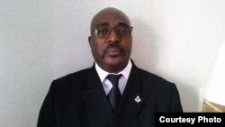 Belchior Lanso Tati - secretário-geral Frente Consensual Cabindesa