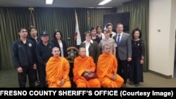 Fresno County officials on Monday met in Fresno with leaders of the Thai community of Southern California to talk about efforts to recover the bodies believed to be those of two Thai tourists whose car ran off a steep cliff on Highway 180 on July 26.