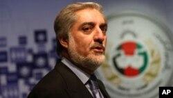عبدالله عبدالله یگانه رقیب خود را در انتخابات تقلب عنوان کرده است