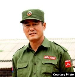 果敢同盟军总司令彭德仁(彭大顺)