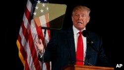 """Fiscal general de Nueva York emitió una """"noticia de infracción"""" a la Fundación Donald J. Trump en la que indica que no está registrada para solicitar donaciones como exige la ley estatal."""