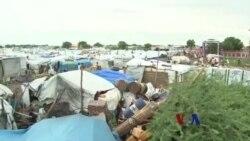 南苏丹难民无家可归 营区生活条件恶化