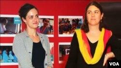 تنظیم کی دو غیر ملکی جو خواتین پاکستان کے دورے پر