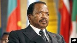 FILE - Cameroonian President Paul Biya. The 83-year-old has been in power for more than three decades.