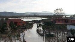Përmbytje në zonat përgjatë luginës së Lumit Vjosë