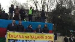 AXCP sədrinin müavini Gözəl Bayramlının çıxışı