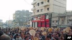 خۆپـیشـاندانی ناڕهزایی خهڵـکی شـاری بانیاسی سوریا له دژی حوکمڕانی بهشـار ئهلئهسهد، ههینی 3 ی شهشی 2011