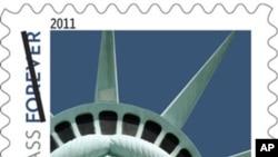 邮票上的自由女神原来不是本尊